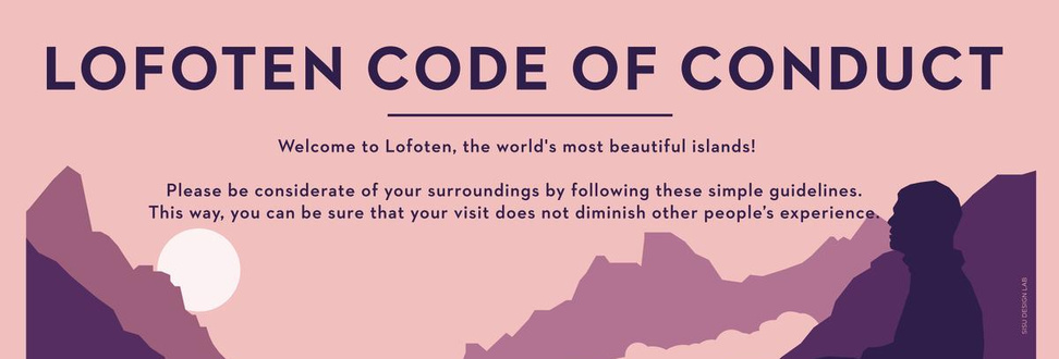 Lofoten code of conduct